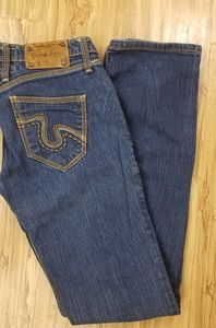 Vintage Rebel Embroidered Jeans Size 26